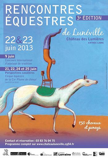rencontre equestre luneville 2020 programme